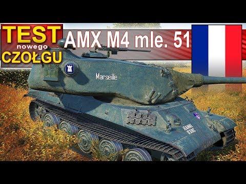 AMX M4 mle. 51 - działo bez golda.. prawie :) - BITWA - World of Tanks