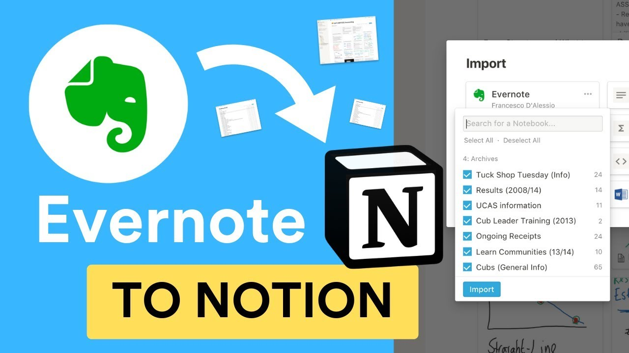 BRAND NEW: Evernote to Notion Importer