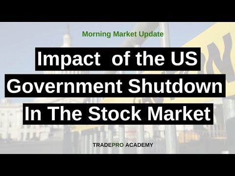 Will the US government shutdown impact the stock market?