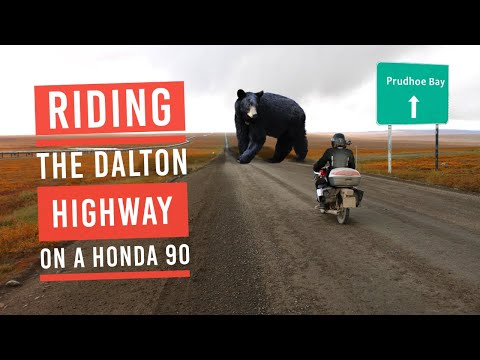 Alaska to Argentina Ep2: The Dalton Highway to Prudhoe Bay. Alaska Part 1 of 2