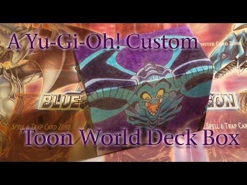 Custom Yu-Gi-Oh! Deck Box: Toon Summoned Skull