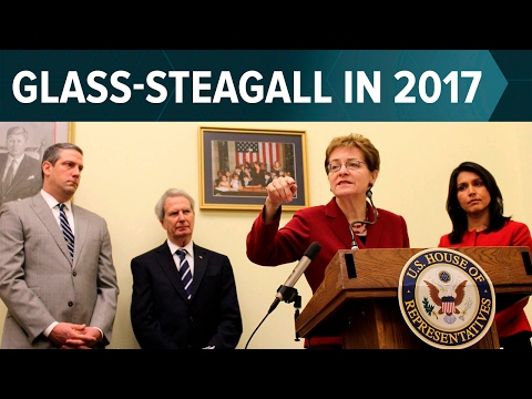 Glass-Steagall Reintroduced (HR 790), Pass it Now