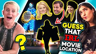 Can YOU Guess The Movie Location In Real Life!? (The Office, Clueless)