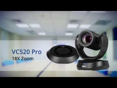 Quality Video |  VC520 Pro 18X Zoom