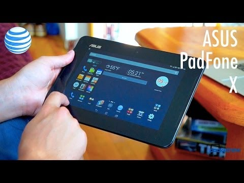 ASUS PadFone X Review Part II: Tablet Edition