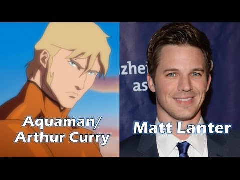 Characters and Voice Actors - Justice League: Throne of Atlantis