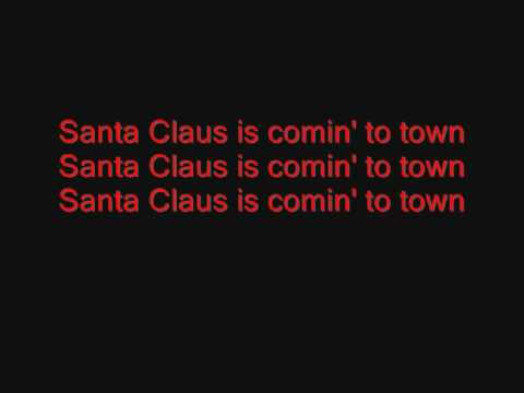 Jackson 5 Santa Claus Is Coming To Town Lyrics Youtube