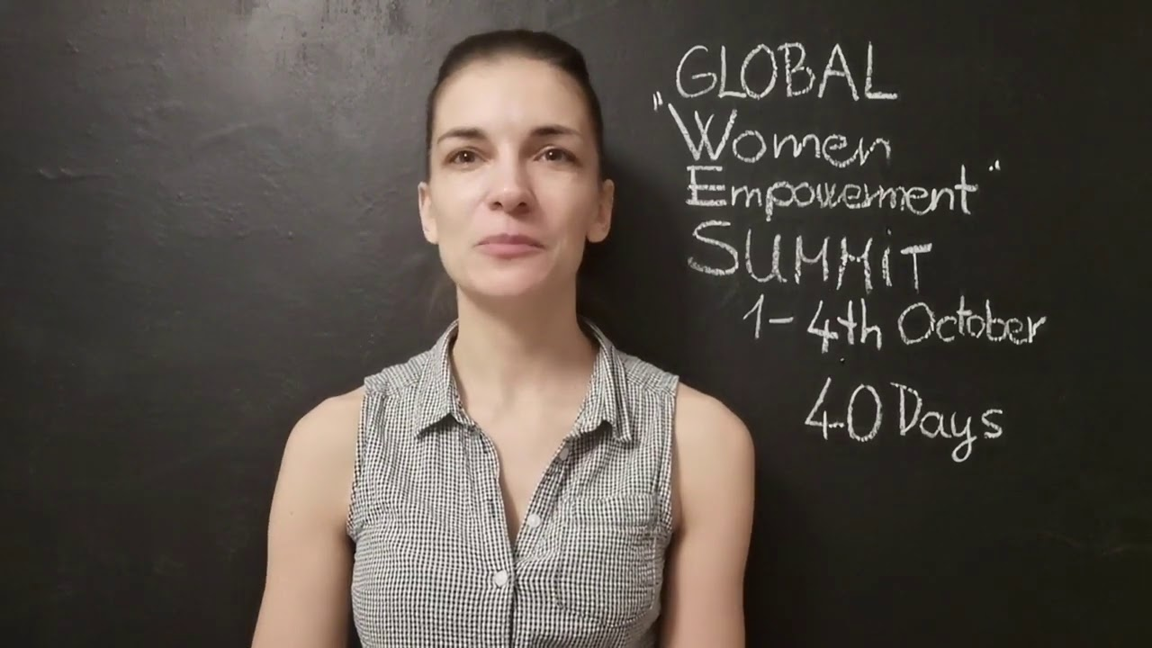 Global Women Empowerment Summit Challenge 40 days to go