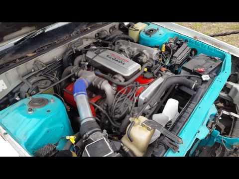 Toyota Cresta GX 71 1G GTE turbo crash