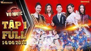 Đấu trường võ nhạc tập 1 full: Minh Tú, Vân Trang, John Huy, Gemma há hốc vì 5 nhóm diễn quá máu lửa
