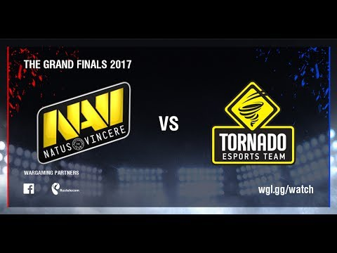 World of Tanks - Natus Vincere G2A vs TORNADO ENERGY - The Grand Finals 2017
