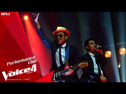 The Voice Thailand - โชว์ทีมสิงโต - วณิพก - 13 Dec 2015