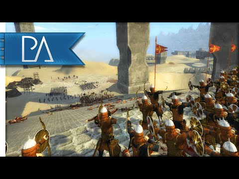 SIEGE OF FORGOTTEN FORTRESS - Third Age Total War Gameplay