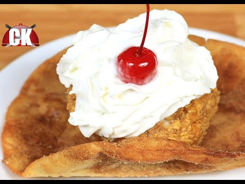 How to Make Mexican Fried Ice Cream!