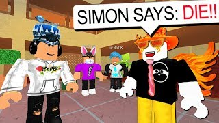 SIMON SAYS WITH DISGUISES!! (Roblox Murder Mystery 2)