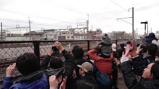 高崎線を走る貨物列車に手を振ろう その2