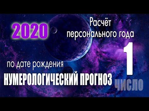Расчёт персонального года 2020 !!! по дате рождения. нумерологический  просчет