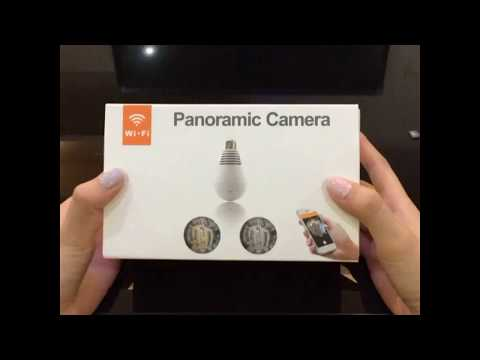 HAG 360° Panoramic CCTV Bulb Camera