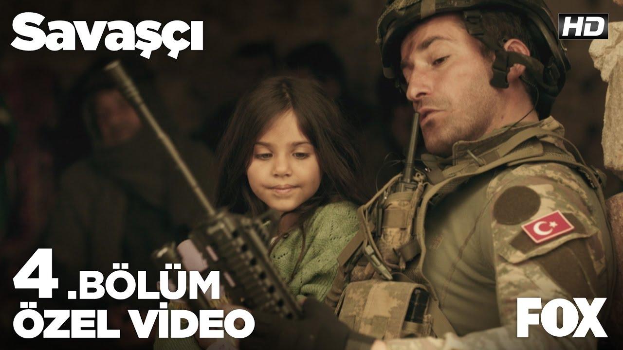 Küçük kızın soruları Bayram Başçavuş'u duygulandırıyor... Savaşçı 4. Bölüm