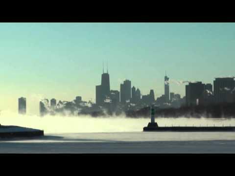 Raw: 'Polar Vortex' Grips Chicago