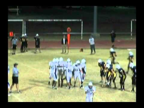 9th Football Round Rock Dragons vs Stony Point Tigers 10/20/11