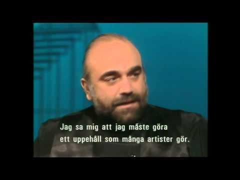 Demis Roussos Interview -  Jacobs Stege 1988
