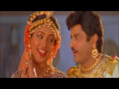 Ghatina Prema Gahatana Video Song || Bhairava Dweepam Movie || Balakrishna, Roja, Rambha