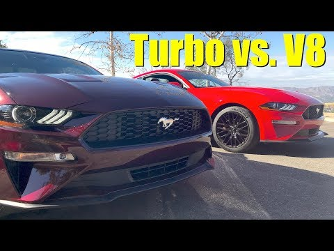 Turbo Vs V8: You'll Want To Hear This 2018 Ford Mustang Rev Battle