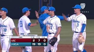 Recap: No. 13 UCLA baseball cruises past USC to clinch crosstown series win