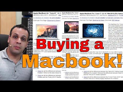 Macbook buyer's guide: Louis' recommendation list.