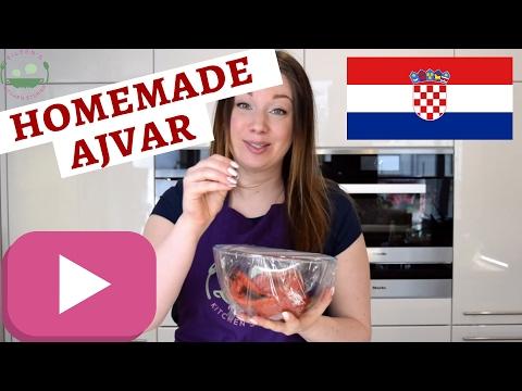 CROATIAN AJVAR Recipe   Pepper Caviar