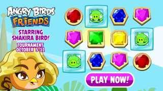 Shakira Bird stars in Angry Birds Friends - Gameplay Trailer