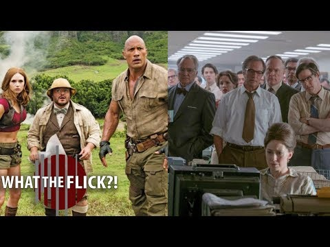 Box Office Recap - Jumanji And The Post