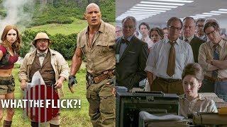 Box Office Recap - Jumanji And The Post