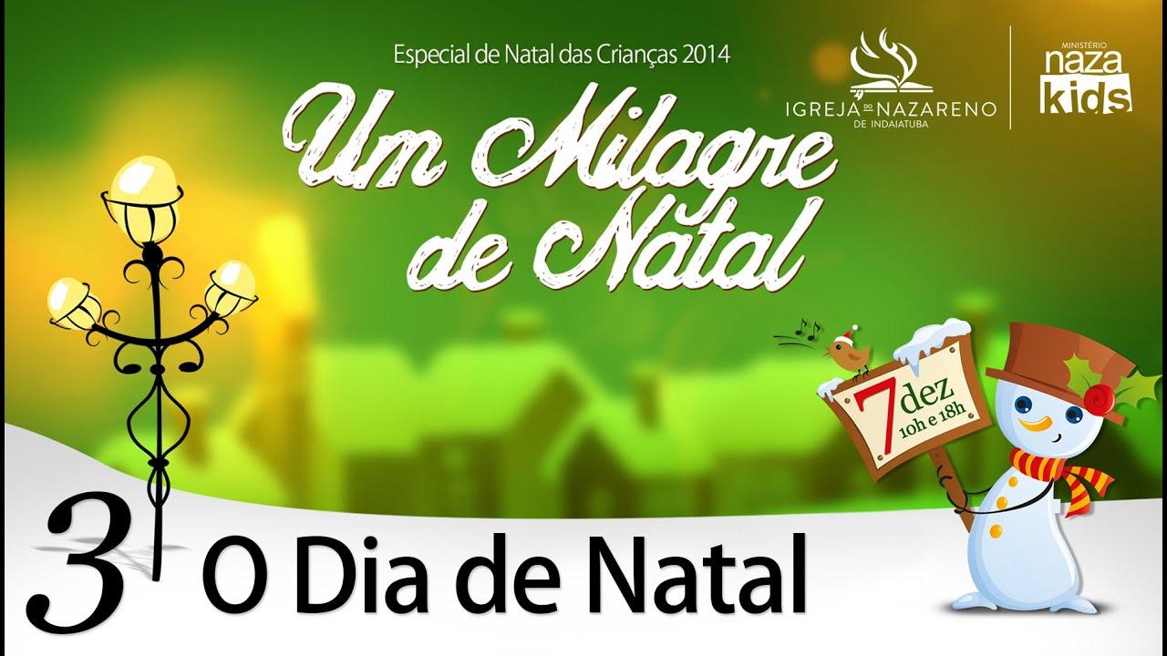 cantata de natal um milagre de natal