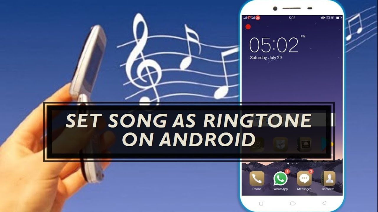 How to Set Song as Ringtone in Android
