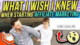 What I Wish I Knew When Starting Affiliate Marketing From Complete Scratch As A Beginner thumbnail