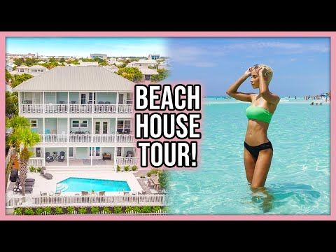 My Vacation Home Tour! (Beach View!)