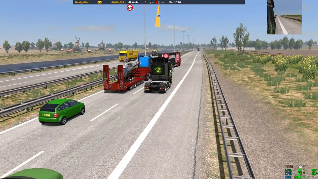 ETS2 1 30-1 31 Real Ai Traffic Engine Sounds by Cip v1 0