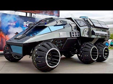 Questo è il mezzo che arriverà su Marte fra 18 Anni!