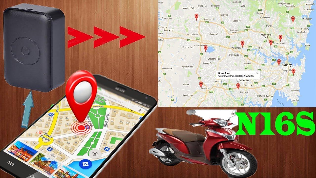 Định Vị GPS|| Thiết Bị Định Vị Xe Máy N16s – Định Vị Chính Xác – Âm Thanh Rõ Nét
