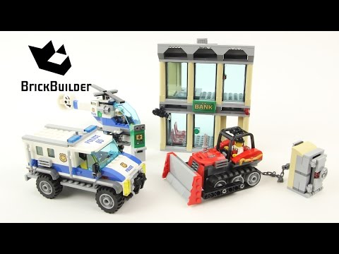 Lego City 60140 Bulldozer Break In Lego Speed Build Youtube