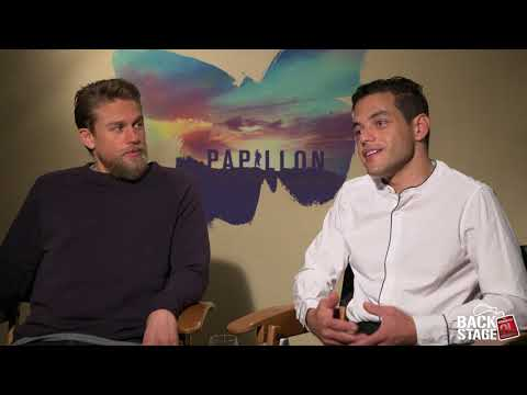 Charlie Hunnam Starves for PAPILLON, Almost Punches Rami Malek on Set