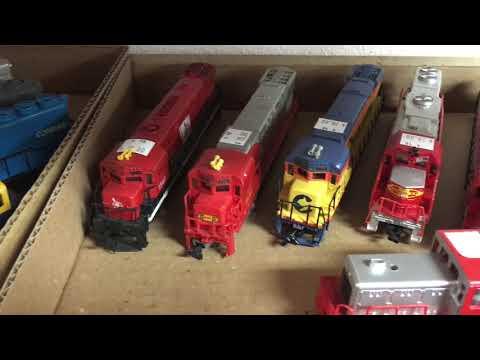 Visit to Dana's Railroad Supply, Train Store