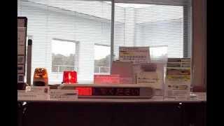 緊急地震速報連動型安否確認システムとLED表示機および回転灯との連動 thumbnail