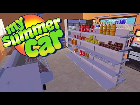 STEALING FROM THE STORE, Hidden Rally + Junk Car Located - My Summer Car Gameplay Highlights Ep 20