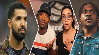 Drake - Duppy Freestyle (Pusha T & Kanye West Diss) REACTION 😱🔥 | WHO'S BETTER 🤔 Infrared Daytona
