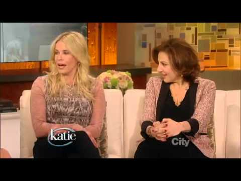 Chelsea Handler and Kathy Najimy on Katie Couric. March 12, 2013.