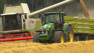TraktorTV Folge 20 - Getreideernte bei Bauernland Hanke