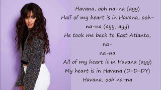 Camila Cabello ft.Daddy Yankee-Havana Remix (Lyrics)